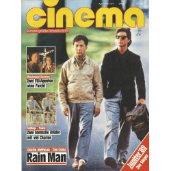 CINEMA 4/89 April 1989 - Rain Man