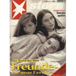 stern Heft Nr.39 / 21 September 1995 - Der Trend der 90er Freunde
