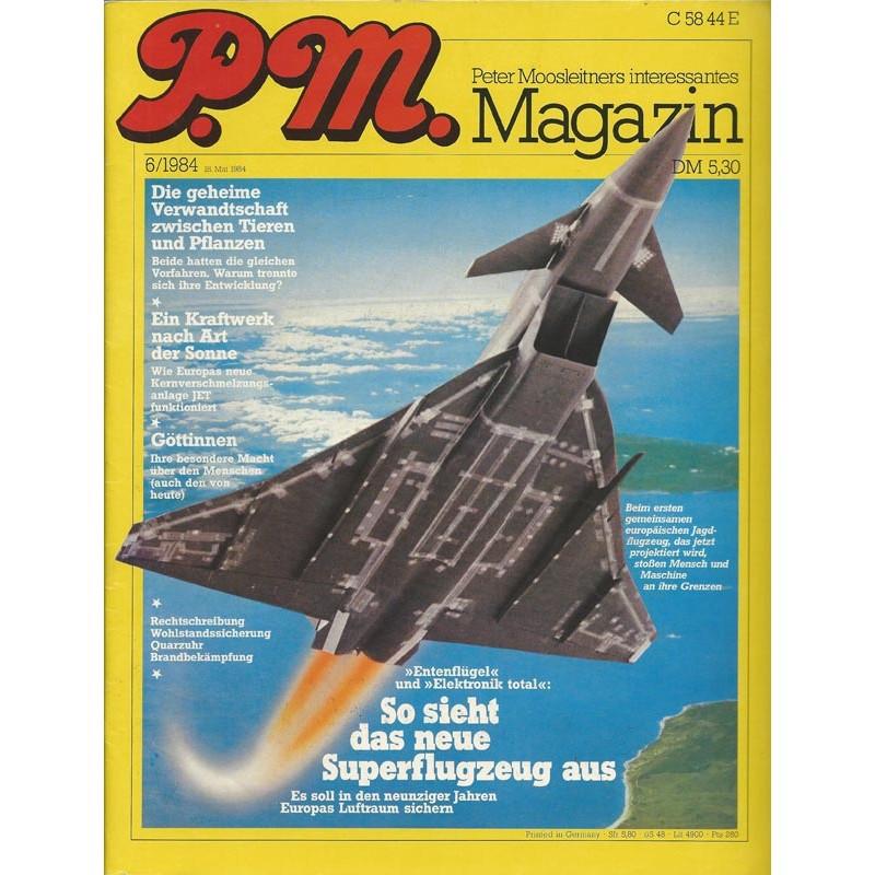 P.M. Ausgabe Juni 6/1984 - Superflugzeug
