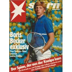stern Heft Nr.36 / 29 August 1985 - Boris Becker exklusiv