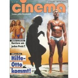 CINEMA 7/87 Juli 1987 - Hilfe Otto kommt!