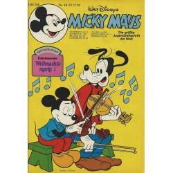 Micky Maus Nr. 48 / 27 November 1979 - Weihnachtsmarkt 1