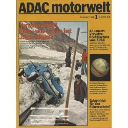 ADAC Motorwelt Heft.1 / Januar 1978 - Verkehrsunfall?