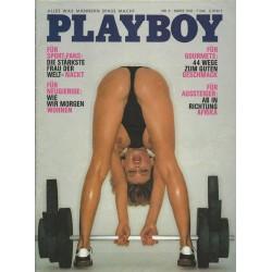Playboy Nr.3 / März 1981 - Lisa Lyon