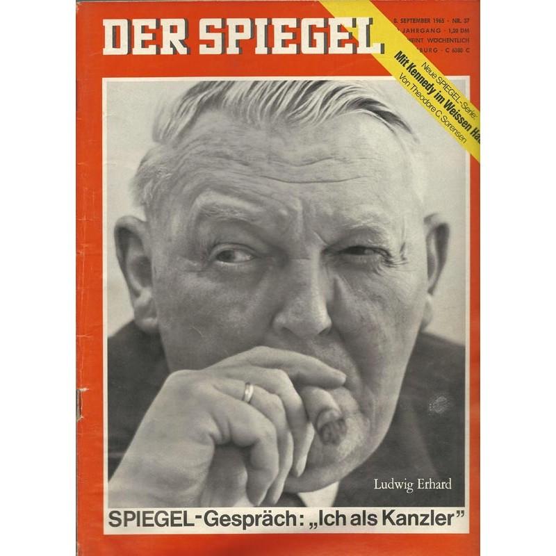 Der Spiegel Nr.37 / 8 September 1965 - Ich als Kanzler