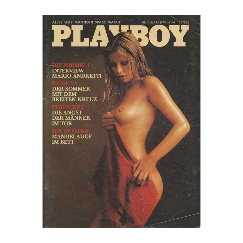 Playboy Nr.3 / März 1979 - Silvana Berg