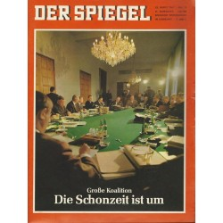 Der Spiegel Nr.13 / 20 März 1967 - Große Koalition