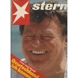 stern Heft Nr.29 / 12 Juli 1979 - Franz Josef Strauß