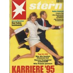 stern Heft Nr.23 / 1 Juni 1995 - Karriere 1995