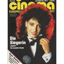 CINEMA 6/86 Juni 1984 - Die Siegerin Jennifer Beals