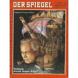 Der Spiegel Nr.49 / 27 November 1967 - Rettung durch neuen Kurs?