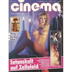 CINEMA 11/87 November 1987 - Satanskult Zelluloid