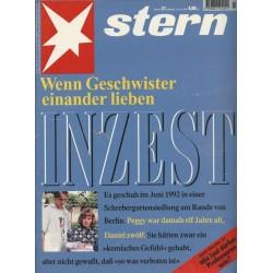 stern Heft Nr.27 / 30 Juni 1994 - Inzest