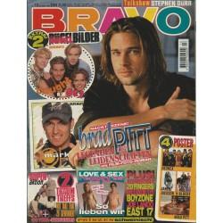 BRAVO Nr.13 / 23 März 1995 - Brad Pitt nackt Szenen