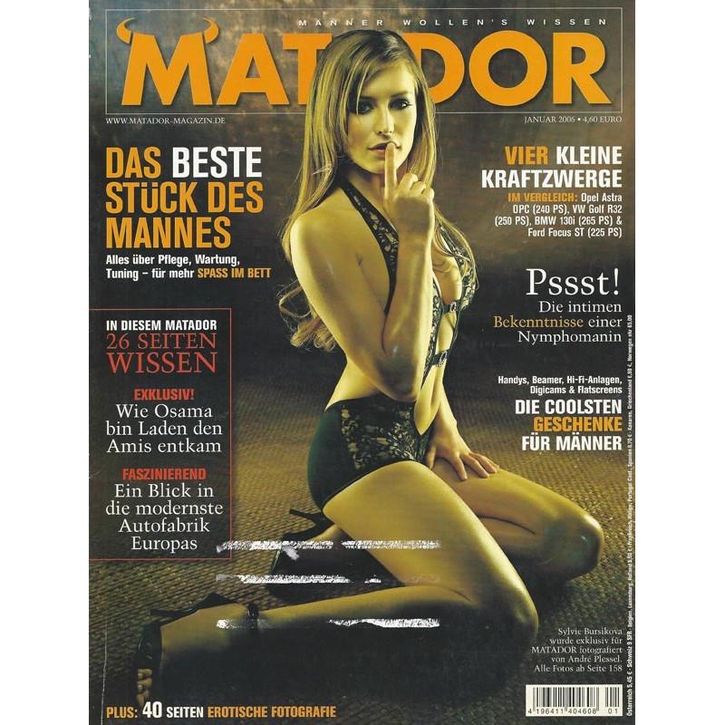 Matador Januar 2006 - Sylvie Bursikova