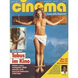 CINEMA 6/87 Juni 1987 - Tabus im Kino