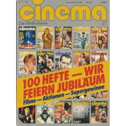 CINEMA 9/86 September 1986 - Jubiläum 100 Hefte