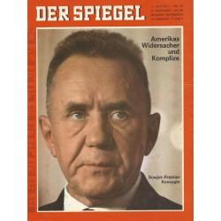 Der Spiegel Nr.28 / 3 Juli 1967 - Amerikas Widersacher und Komplize