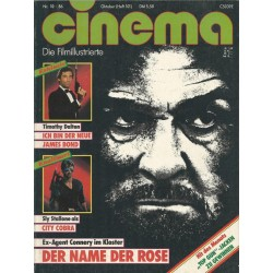 CINEMA 10/86 Oktober 1986 - Der Name der Rose