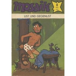 Mosaik Nr.8 / August 1985 - List und Gegenlist