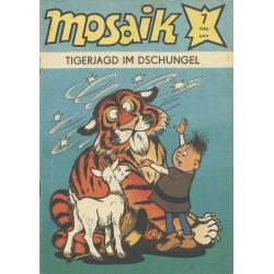 Mosaik Nr.7 / Juli 1986 - Tigerjagd im Dschungel