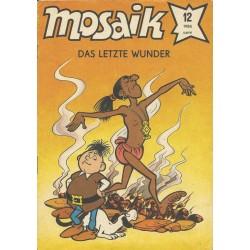 Mosaik Nr.12 / Dezember 1986 - Das letzte Wunder