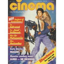 CINEMA 11/86 November 1986 - Aliens, die Rückkehr