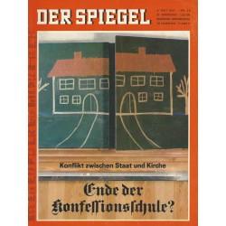 Der Spiegel Nr.20 / 8 Mai 1967 - Ende der Konfessionsschule?