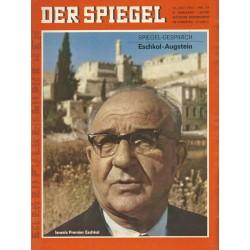 Der Spiegel Nr.29 / 10 Juli 1967 - Eschkol-Augstein