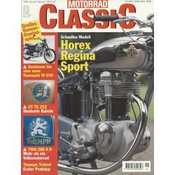 Motorrad Classic 1/99 - Januar/Februar 1999 - Horex Regina Sport