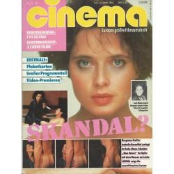 CINEMA 2/87 Februar 1987 - Skandal?