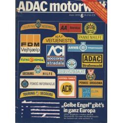 ADAC Motorwelt Heft.6 / Juni 1978 - Gelber Engel in ganz Europa