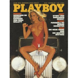 Playboy Nr.10 / Oktober 1981 - Playmate Bettina Mey