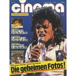 CINEMA 1/89 Januar 1989 - Michael Jackson die geheimen Fotos!