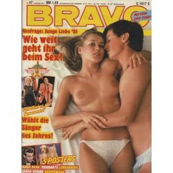 BRAVO Nr.47 / 12 November 1981 - Wie weit geht ihr beim Sex?