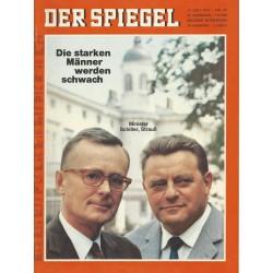 Der Spiegel Nr.30 / 17 Juli 1967 - Die starken Männer werden schwach
