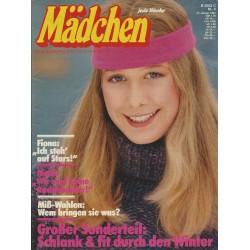 Mädchen Nr.4 /  14 Janur 1981 - Schlank & fit durch den Winter