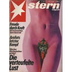 stern Heft Nr.47 / 17 November 1983 - Die verteufelte Lust