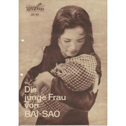 Programmheft 87/65 - Die junge Frau von BAI-SAO