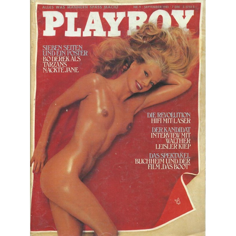 Playboy Nr.9 / September 1981 - Uschi Termath