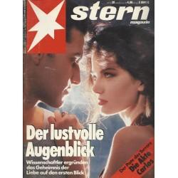 stern Heft Nr.20 / 8 Mai 1991 - Der lustvolle Augenblick