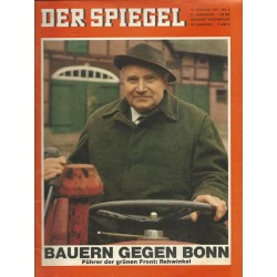 Der Spiegel Nr.8 / 13 Februar 1967 - Bauern gegen Bonn