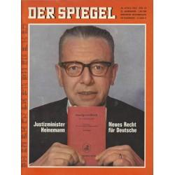 Der Spiegel Nr.16 / 10 April 1967 - Neues Recht für Deutsche
