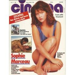 CINEMA 3/88 März 1988 - Sophie Marceau