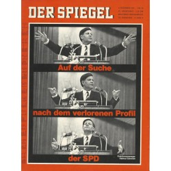 Der Spiegel Nr.50 / 4 Dezember 1967 - ... Profil der SPD