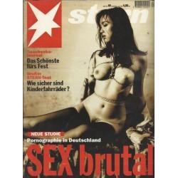 stern Heft Nr.49 / 1 Dezember 1994 - Sex brutal