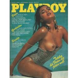Playboy Nr.7 - Juli 1982 - Tetchie Agbayani