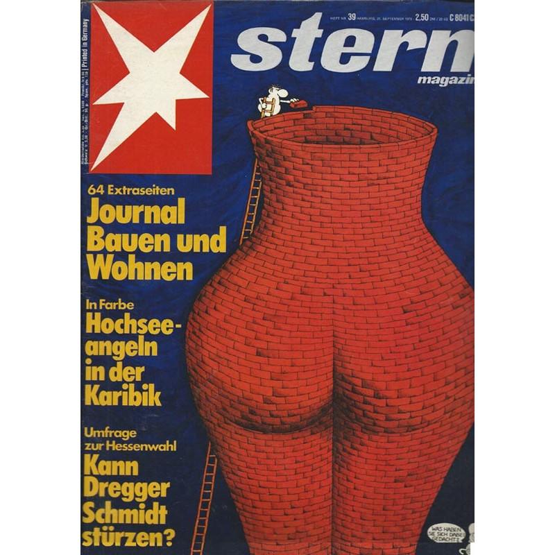 stern Heft Nr.39 / 21 September 1978 - Journal Bauen & Wohnen