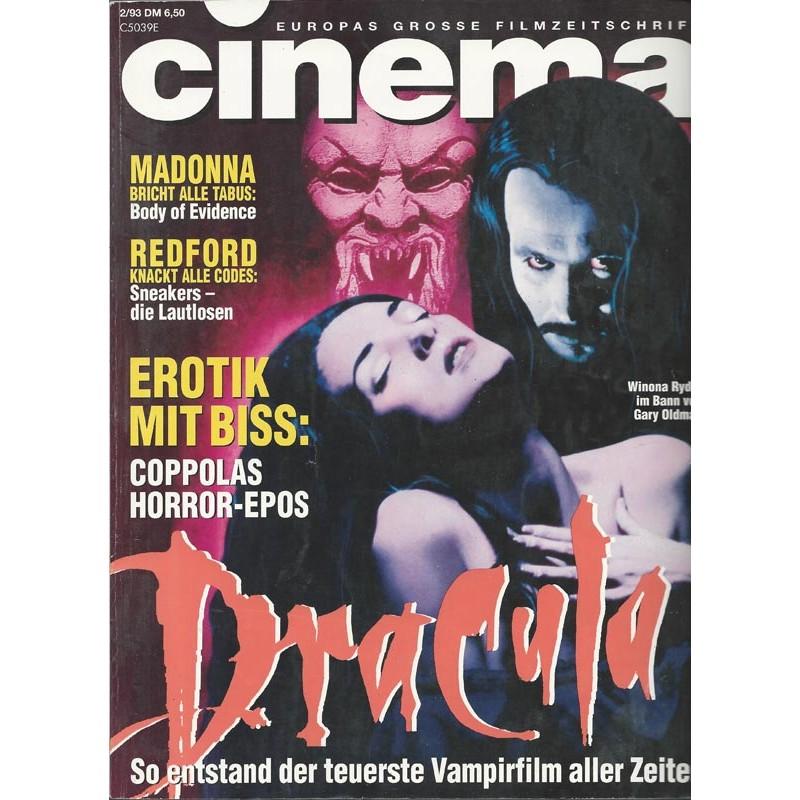 CINEMA 2/93 Februar 1993 - Dracula