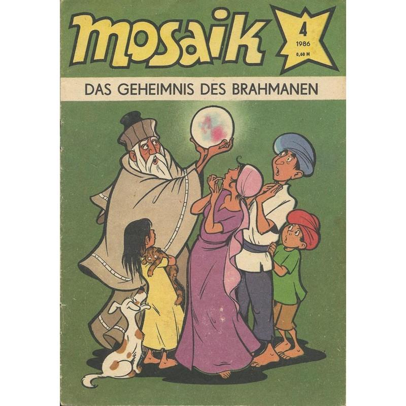 Mosaik Nr.4 / April 1986 - Das Geheimnis des Brahmanen